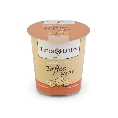 Wholemilk Live Toffee Yogurt 150g
