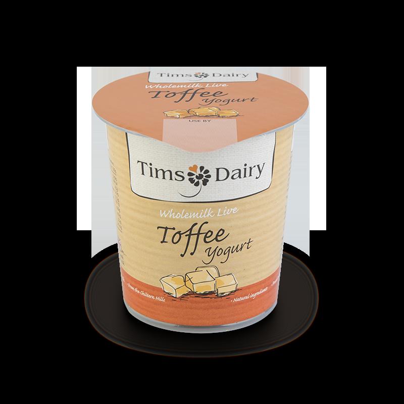 Wholemilk Live Toffee Yogurt 150g
