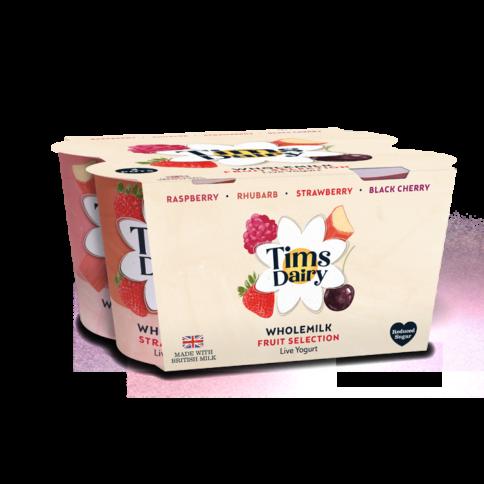 Multipack of 4 Wholemilk Yogurts 600g (4 x 150g)