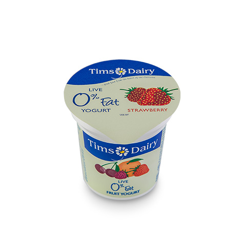 Live 0% Fat Strawberry Yogurt