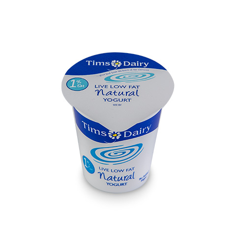 Live Low Fat Natural Yogurt