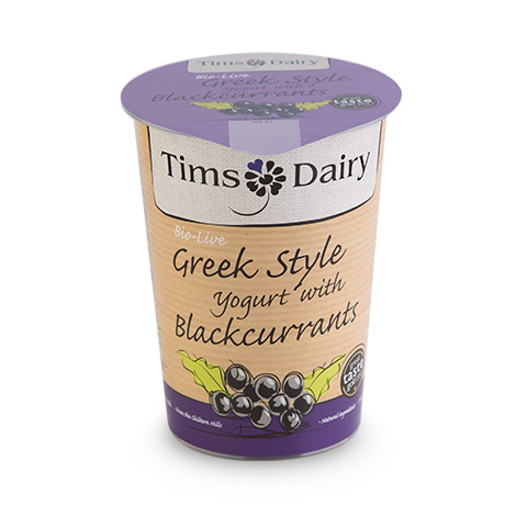 Greek Style Yogurt with Blackcurrants 450g