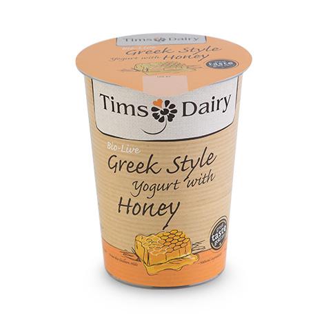 Greek Style Yogurt with Honey 450g