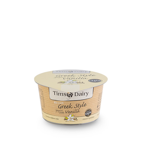 Greek Style Yogurt with Vanilla 175g