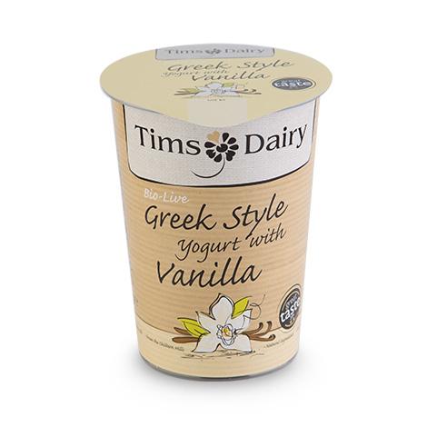 Greek Style Yogurt with Vanilla  450g