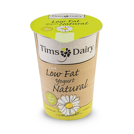 Low Fat Live Natural Yogurt 500g