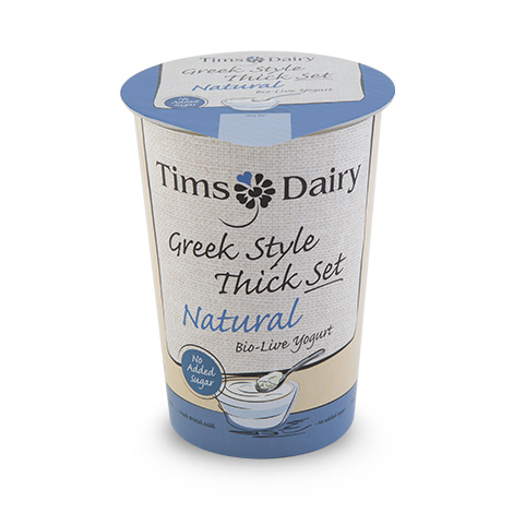 Greek Style Thick Set Natural Yogurt 450g