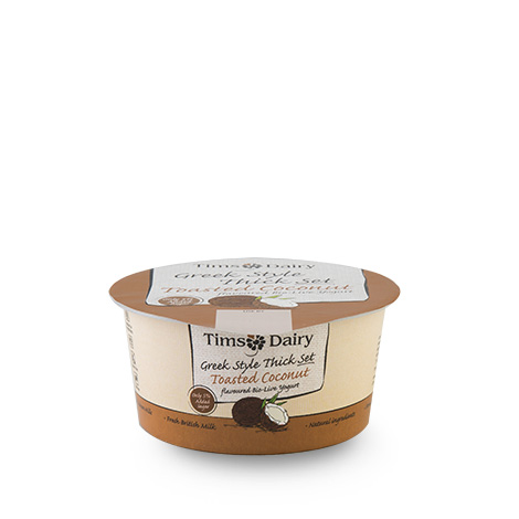 Greek Style Thick Set Toasted Coconut Yogurt 150g