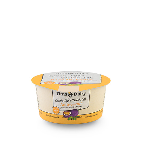 Greek Style Thick Set Passion Fruit Yogurt 150g