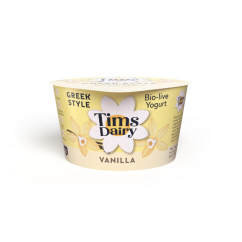 Greek Style Yogurt with Vanilla 175g