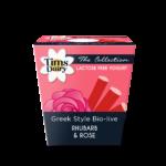 The London Collection Rhubarb & Rose Yogurt 150g