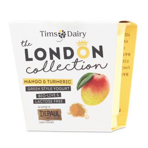 The London Collection Mango & Turmeric Yogurt 150g